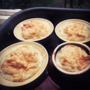 Рецепт Суфле с голубым сыром (с плесенью)
