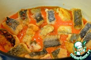 Сом в томатном соусе – кулинарный рецепт
