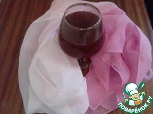 """Рецепт Напиток горячий """"Виноградное яблоко"""""""