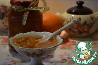 Рецепт: Джем из груш, апельсинов и нектаринов