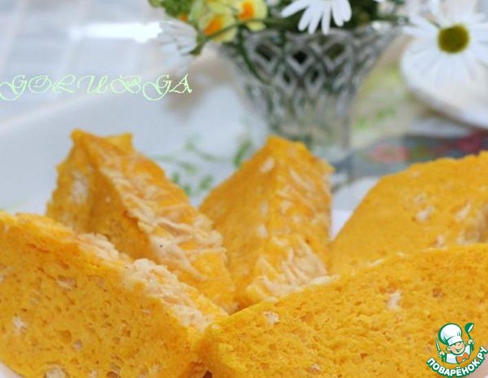 Рецепт: Суфле из тыквы и моркови в микроволновке