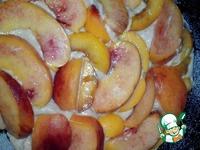 Шикарный пирог с персиками ингредиенты