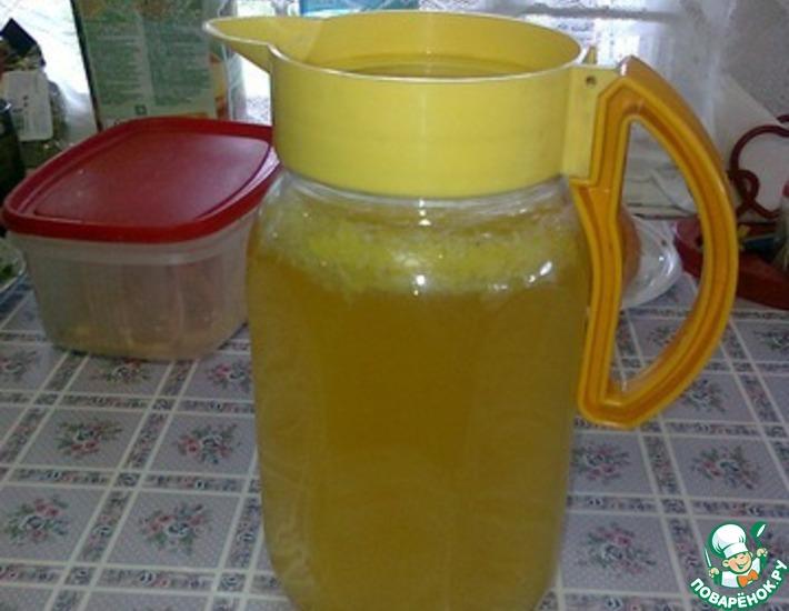 Рецепт: Лимонный боуль