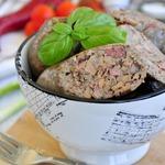 Печеночная колбаса с гречкой в мультиварке