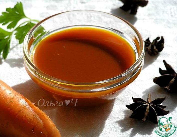 Рецепт: Волшебный морковный соус от Сильвестра Вахида