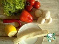Салат из сулугуни с овощами ингредиенты