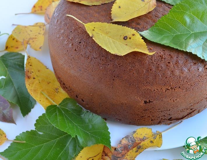 Рецепт: Пирог Яблочная осень