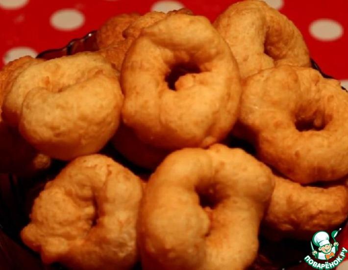 Рецепт: Пончики Как в детстве