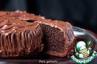 Рецепт: Шоколадно-банановый кекс в мультиварке