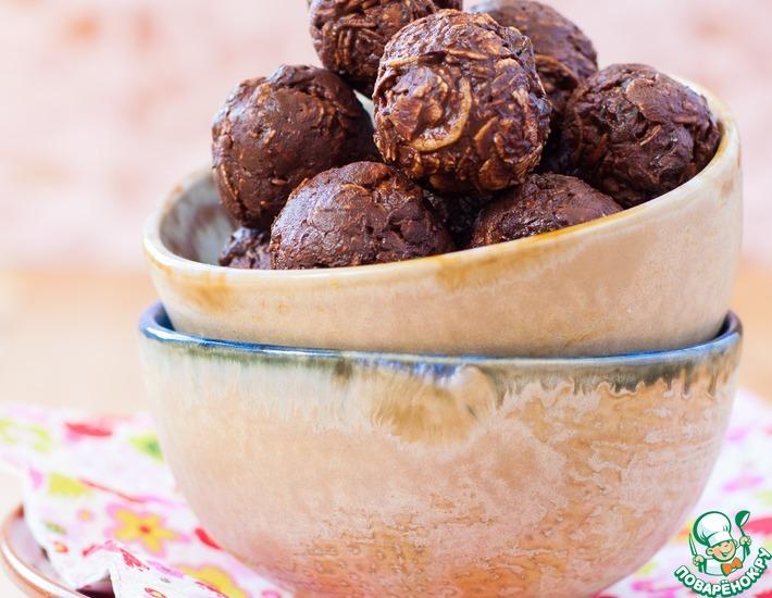 Шоколадные конфеты с кукурузными хлопьями