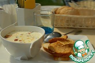 Рецепт: Сырный суп в мультиварке