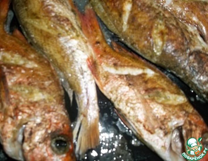 Рецепт: Рыба запеченная Натуральная