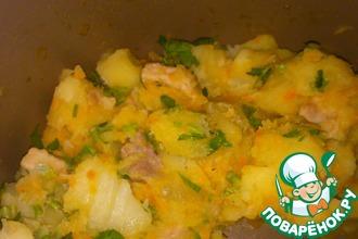 Рецепт: Картошечка с мясом