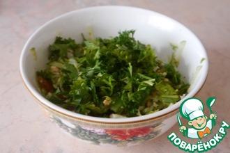 Рецепт: Салат Медовый огурец