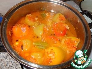Фаршированные перцы с овощами на зиму рецепт