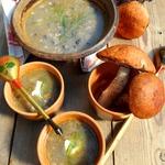 Грибной суп с овсянкой