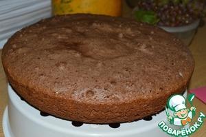 """Торт """"Арабские горки"""" в виде горы, рецепт с фото"""