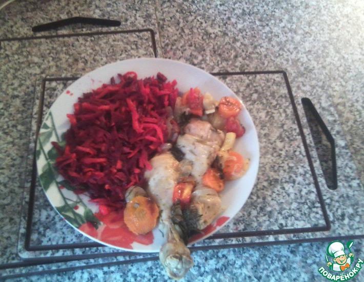 Рецепт: Салат Богатырь