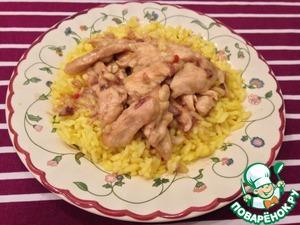 Рецепт Курица с арахисом по-китайски