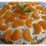 Мандариновый торт с пралине (Mandarinentorte mit Krokant)