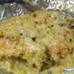 Рыба Лемонема запеченная в фольге с овощами
