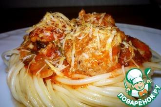 Рецепт: Пикантные тефтельки в томатном соусе