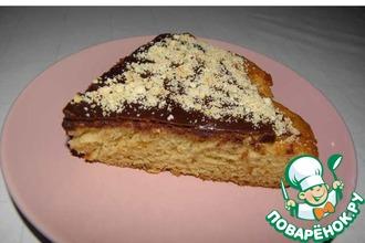 Рецепт: Быстрый пирог День и ночь