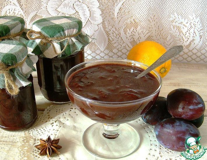 Рецепт: Джем Чернослив в шоколаде