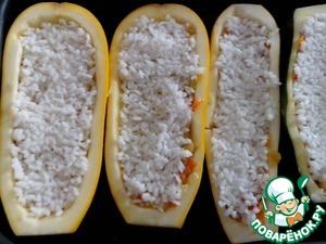 Фаршированные кабачки «Cтручки с горошком» – кулинарный рецепт