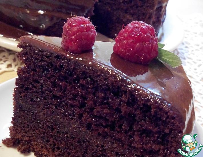 шоколадный торт на раз два три рецепт