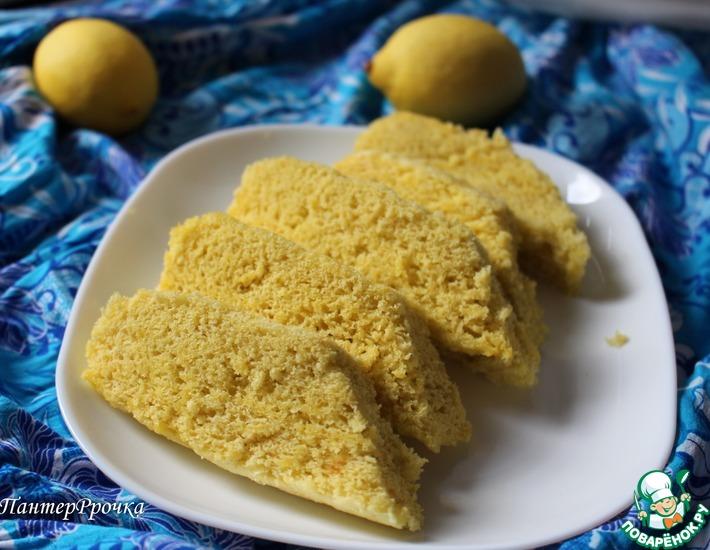 Лимонный пирог на пару – кулинарный рецепт