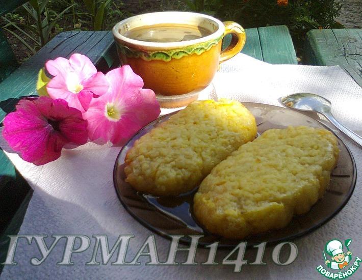Рецепт: Хурмажики (сочные пирожные)