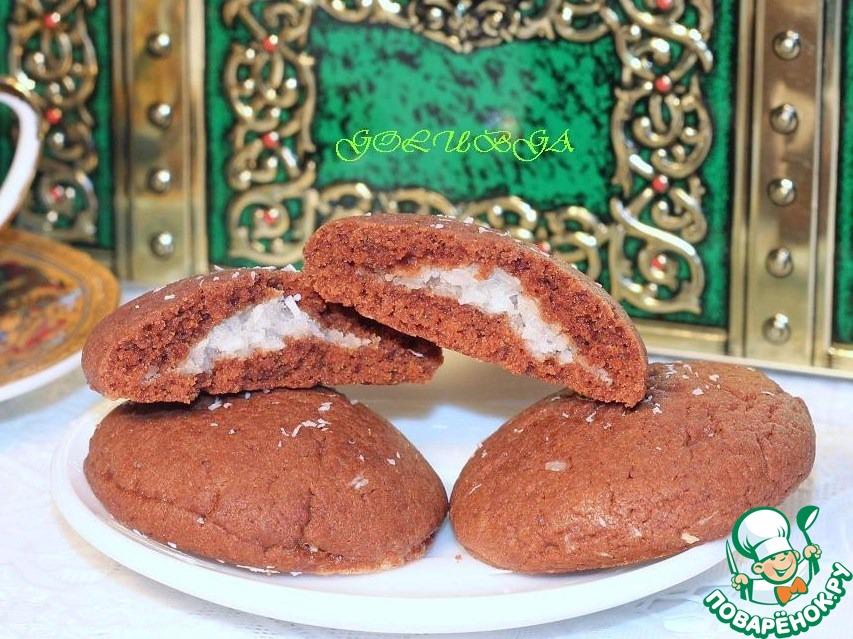 Печенье шоколадное «Баунти»