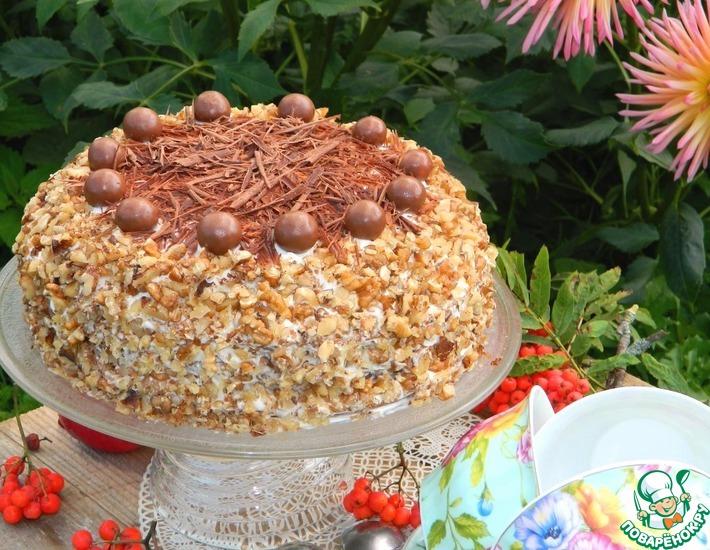 Рецепт: Торт Смак'ом