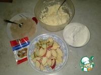 Печеные вареники с яблоками ингредиенты