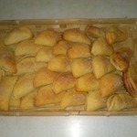 Печеные вареники с яблоками