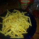 Картофель жареный между фри и пай