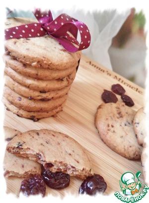 Рецепт Печенье с сушёной вишней
