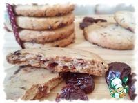 Печенье с сушёной вишней ингредиенты