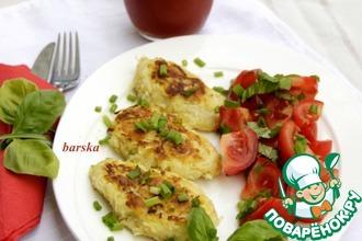 Рецепт: Пуфферы из картофеля и кольраби