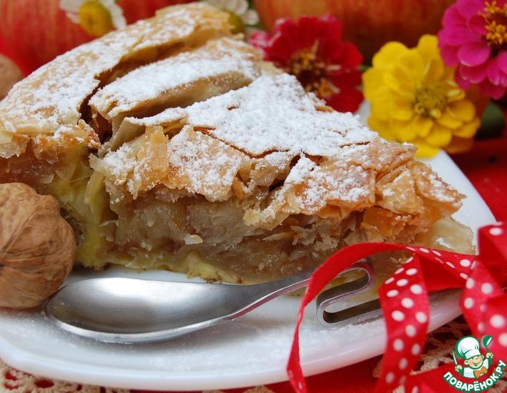 Рецепт: Пирог по мотивам Пацавуропита