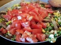 Сковорода Мексика со свиными шницелями ингредиенты