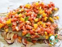 Камбала с помидорами ингредиенты