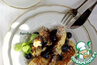 Рецепт: Десерт Императорская чепуха с овсяными хлопьями