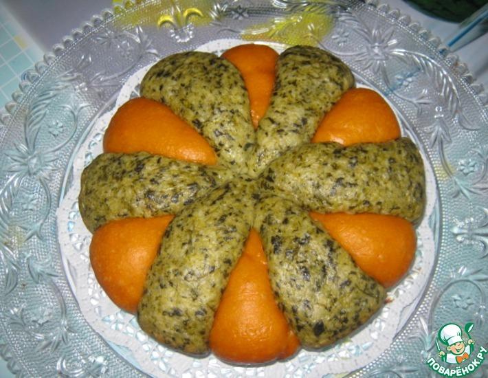 Рецепт: Хлеб Томат-шпинат в мультиварке