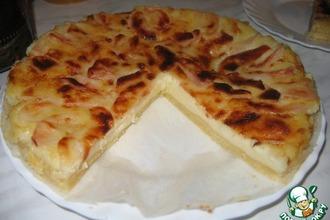 Рецепт: Французский флан  с яблоками
