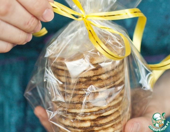 Рецепт: Голландские карамельные вафли