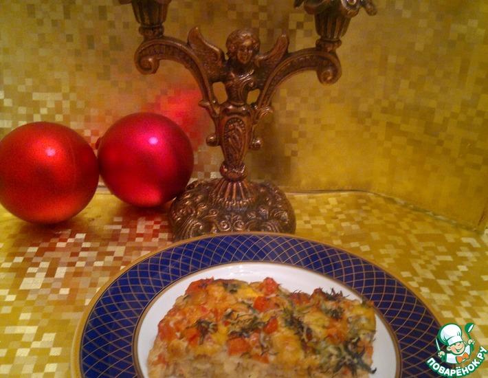 Рецепт: Рыба под соево-горчичным соусом