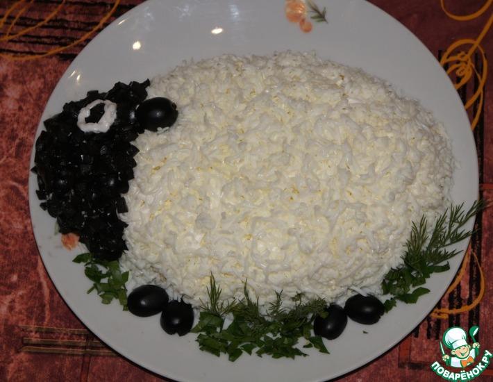 Рецепт: Салат Неженка
