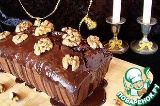 Рецепт: Шоколадный кекс с пивом